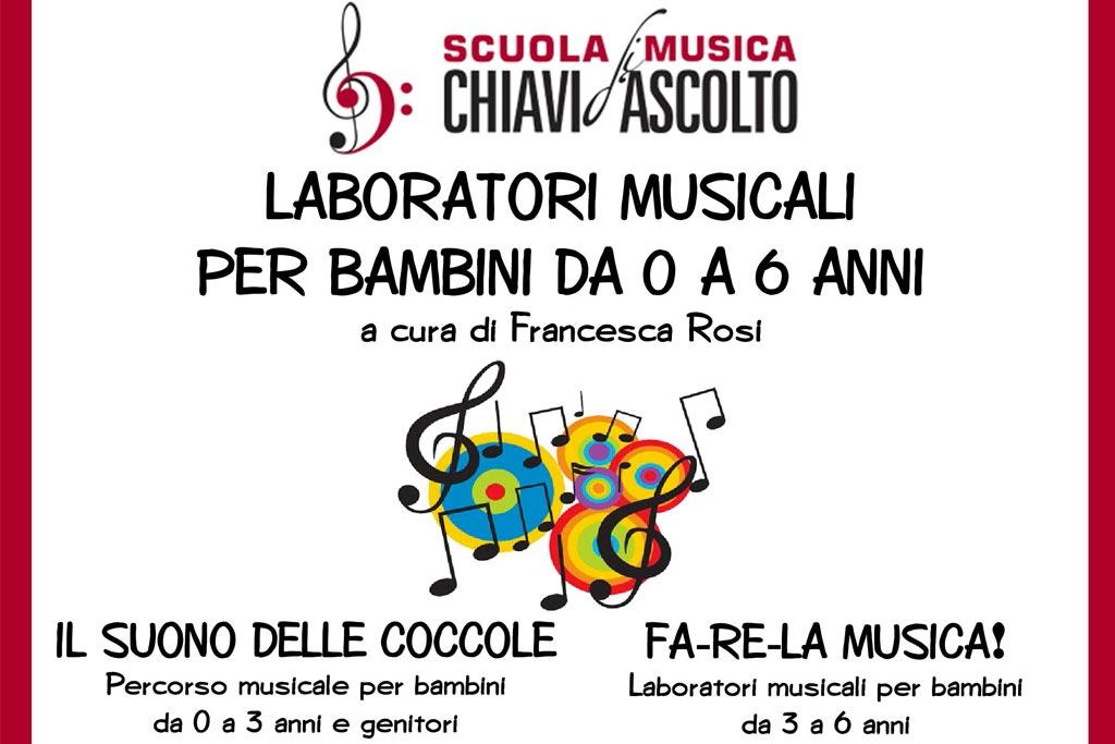 Laboratori Musicali per bambini - Scuola di musica chiavi d'ascolto Bologna